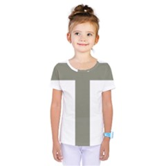 Cross Of Lorraine  Kids  One Piece Tee