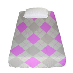 Plaid Pattern Fitted Sheet (single Size)