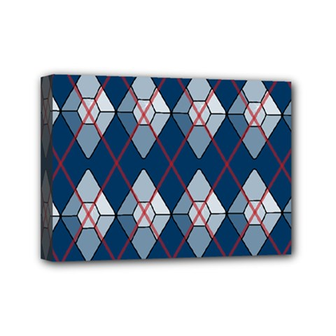 Diamonds And Lasers Argyle  Mini Canvas 7  X 5  by emilyzragz