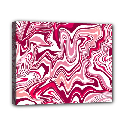 Pink Marble Pattern Canvas 10  X 8  by tarastyle