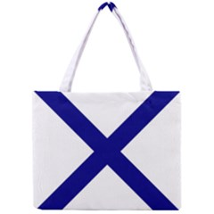Saint Andrew s Cross Mini Tote Bag by abbeyz71