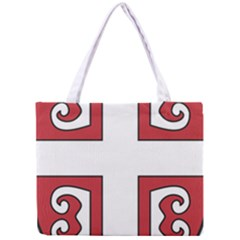 Serbian Cross Shield Mini Tote Bag by abbeyz71