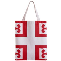 Byzantine Imperial Flag, 14th Century  Zipper Classic Tote Bag by abbeyz71