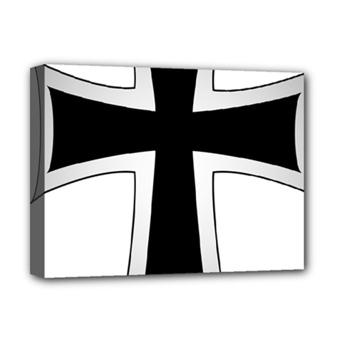 Cross Of The Teutonic Order Deluxe Canvas 16  X 12   by abbeyz71