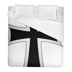 Cross Of The Teutonic Order Duvet Cover (full/ Double Size) by abbeyz71