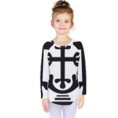 Anuradhapura Cross Kids  Long Sleeve Tee