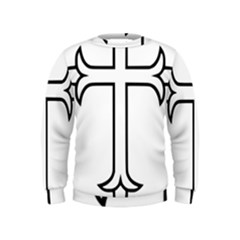 Western Syriac Cross Kids  Sweatshirt