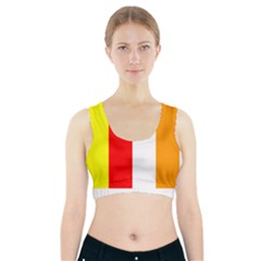 International Flag Of Buddhism Sports Bra With Pocket