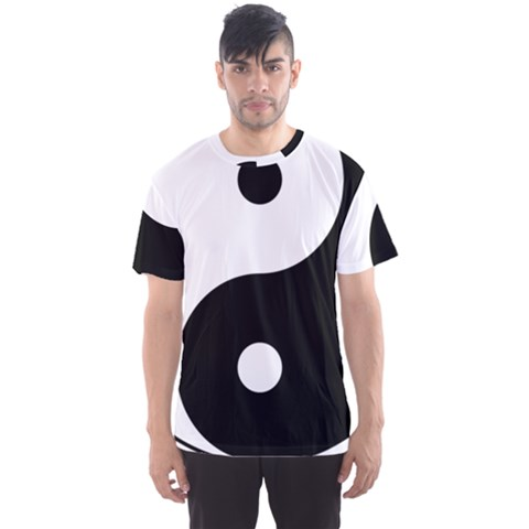 Yin & Yang Men s Sport Mesh Tee by abbeyz71