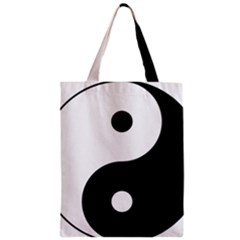 Yin & Yang Classic Tote Bag by abbeyz71