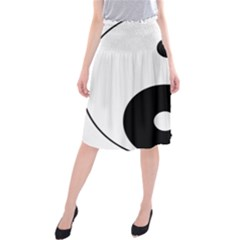 Yin & Yang Midi Beach Skirt by abbeyz71