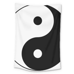 Yin & Yang Large Tapestry by abbeyz71