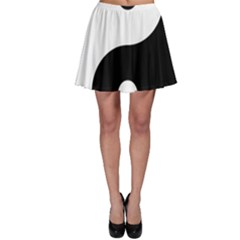Yin & Yang Skater Skirt by abbeyz71