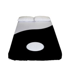 Yin & Yang Fitted Sheet (full/ Double Size) by abbeyz71