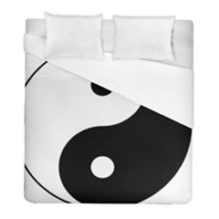 Yin & Yang Duvet Cover (full/ Double Size) by abbeyz71