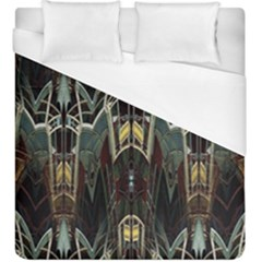 Urban Industrial Rust Grunge Duvet Cover (King Size)