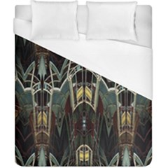 Urban Industrial Rust Grunge Duvet Cover (California King Size)