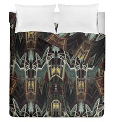 Urban Industrial Rust Grunge Duvet Cover Double Side (Queen Size)
