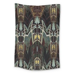 Urban Industrial Rust Grunge Large Tapestry