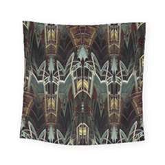 Urban Industrial Rust Grunge Square Tapestry (Small)