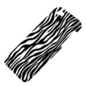 Zebra Stripes Pattern Traditional Colors Black White Apple iPhone 5 Hardshell Case View4
