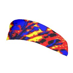 Fire Tree Pop Art Stretchable Headband by Costasonlineshop
