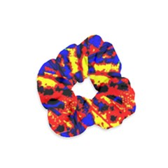 Fire Tree Pop Art Velvet Scrunchie by Costasonlineshop