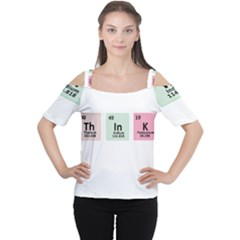 Think   Chemistry Women s Cutout Shoulder Tee