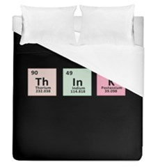 Think   Chemistry Duvet Cover (queen Size) by Valentinaart