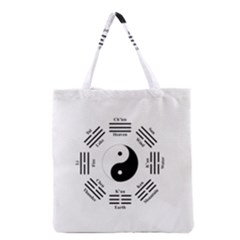 I Ching  Grocery Tote Bag by Valentinaart