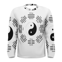 I Ching  Men s Long Sleeve Tee by Valentinaart