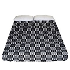I Ching  Fitted Sheet (queen Size)