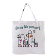 Chemistry Lab Grocery Tote Bag