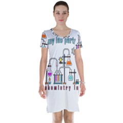 Chemistry Lab Short Sleeve Nightdress
