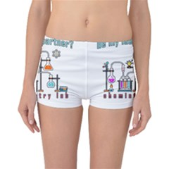 Chemistry Lab Boyleg Bikini Bottoms by Valentinaart
