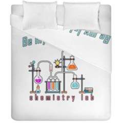 Chemistry Lab Duvet Cover Double Side (california King Size) by Valentinaart