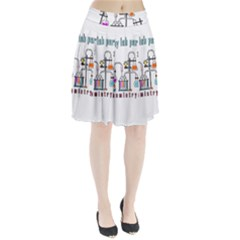 Chemistry Lab Pleated Skirt