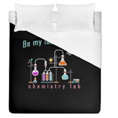 Chemistry Lab Duvet Cover (queen Size) by Valentinaart