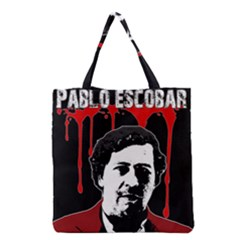 Pablo Escobar  Grocery Tote Bag by Valentinaart