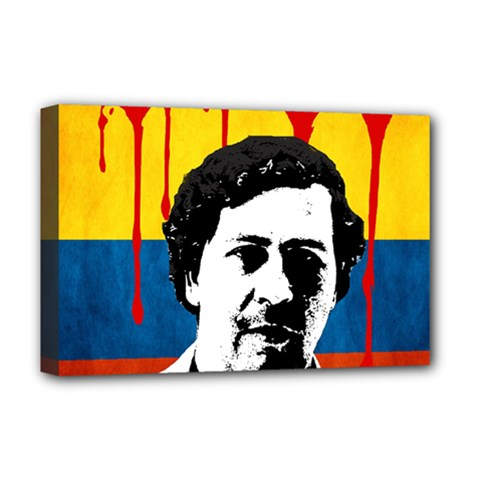 Pablo Escobar Deluxe Canvas 18  X 12