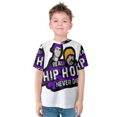 Real Hip Hop Never Die Kids  Cotton Tee
