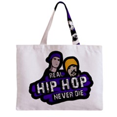Real Hip Hop Never Die Zipper Mini Tote Bag