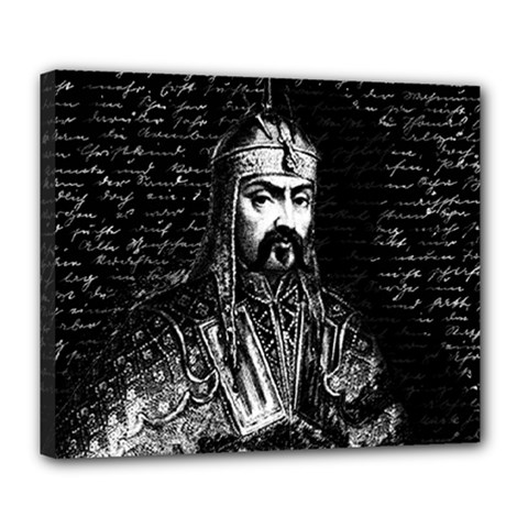 Attila The Hun Deluxe Canvas 24  X 20   by Valentinaart