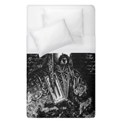 Attila The Hun Duvet Cover (single Size) by Valentinaart