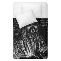 Attila The Hun Duvet Cover Double Side (single Size) by Valentinaart