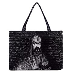 Attila The Hun Medium Zipper Tote Bag by Valentinaart