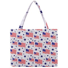 Flag Of The Usa Pattern Mini Tote Bag by EDDArt