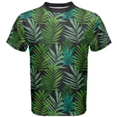 Palms Leaf Men s Cotton Tee by Contest2284792