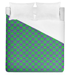 Friendly Retro Pattern A Duvet Cover (queen Size) by MoreColorsinLife