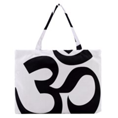 Hindu Om Symbol  Medium Zipper Tote Bag by abbeyz71